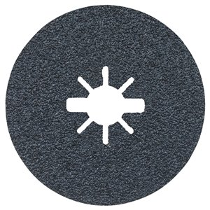 Bosch 36 Grit X-Lock Coarse Grit Abrasive Fiber Discs- 25 pieces - 4.5-in