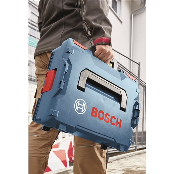Coffret de rangement d'outils empilable de Bosch, 15 po x 14 po x 17.5 po