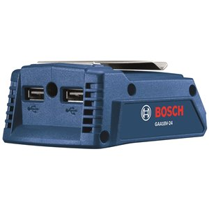 Bosch Portable 2-in-1 Power Adapter - 18 V - 1-in/4-in/2-in