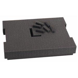 Insert en mousse prédécoupée pour L-BOXX-1 de Bosch