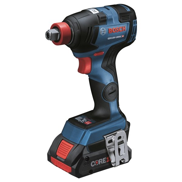Bosch Combo Kit with 2-in-1 Impact Drill/Driver and 4.0 AH Batteries - 18 V