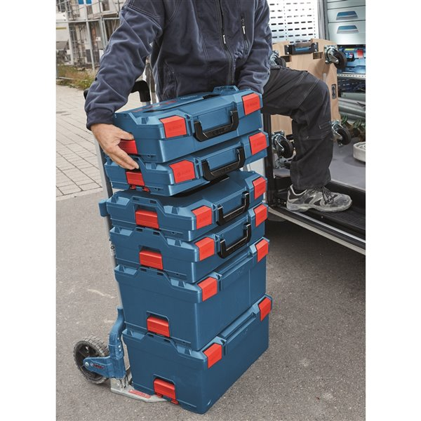 Bosch Stackable Tool Storage Case - 10-in  x 14 -in x 17.5-in