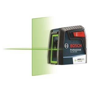 Laser en croix à nivellement automatique de Bosch