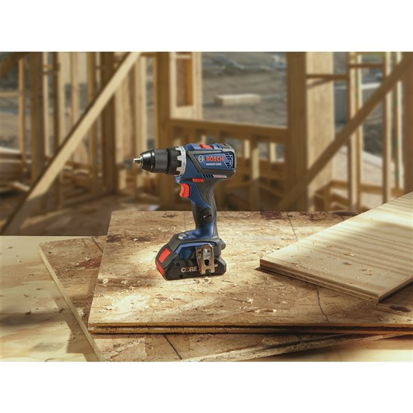 Bosch Brushless Connected-Ready Compact Tough Drill/Driver - 1/2-in - 18 V