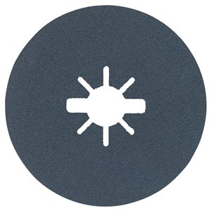 Bosch Grit X-Lock Fine Grit Abrasive Fiber Discs 120 grain - 25 pieces - 5-in