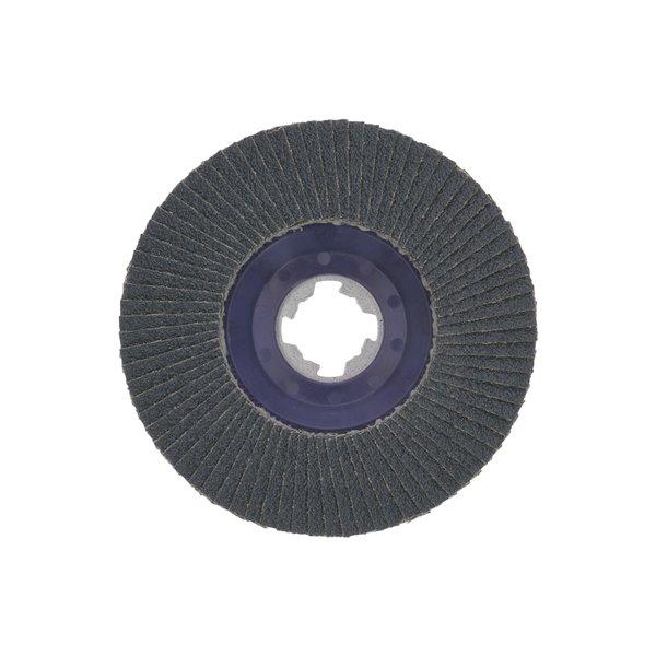 Bosch X-Lock Arbor Type 27 80 Grit Flap Disc - 4-1/2-in
