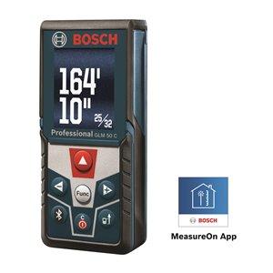 Télémètre laser GLM 50 de Bosch, 165pi
