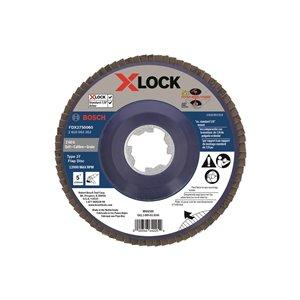 Disque à lamelles X-LOCK de 5 po pour arbre type 27, grain 60