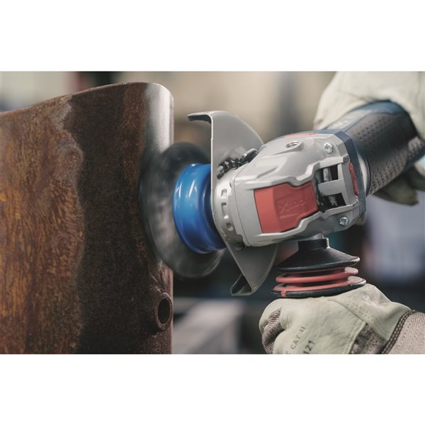 Bosch X-Lock Variable-Speed Angle Grinder with Paddle Switch - 5-in