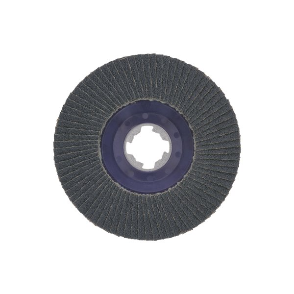 Bosch X-Lock Arbor Type 27 80 Grit Flap Disc - 5-in