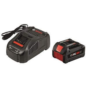 Bosch Core Starter Kit with 6.3 AH Battery - 18 V