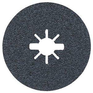 Disques fibres X-Lock à gros grain, grain 36 de Bosh, 25 mcx, 5 po
