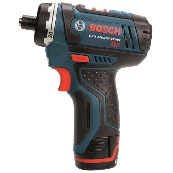 Bosch Two-Speed Pocket Driver with Exact-Fit Insert Tray - 12 V