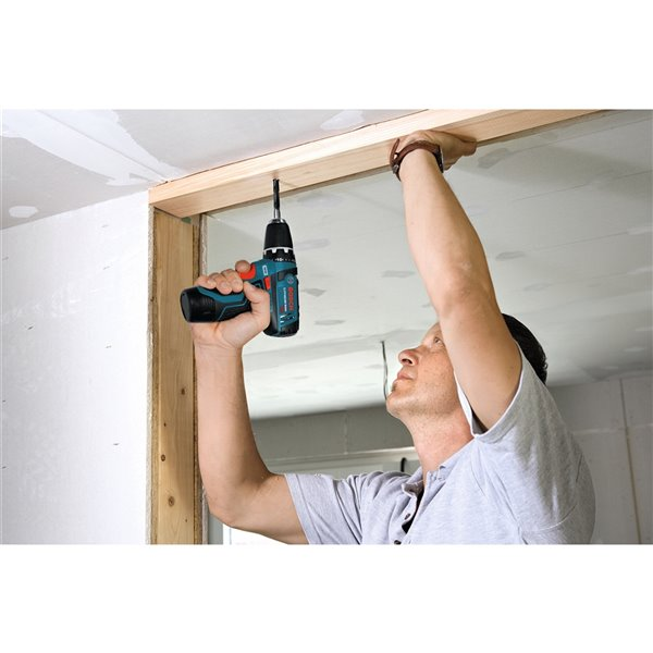 Bosch Drill/Driver with Exact-Fit Insert Tray -  3/8-in - 12 V