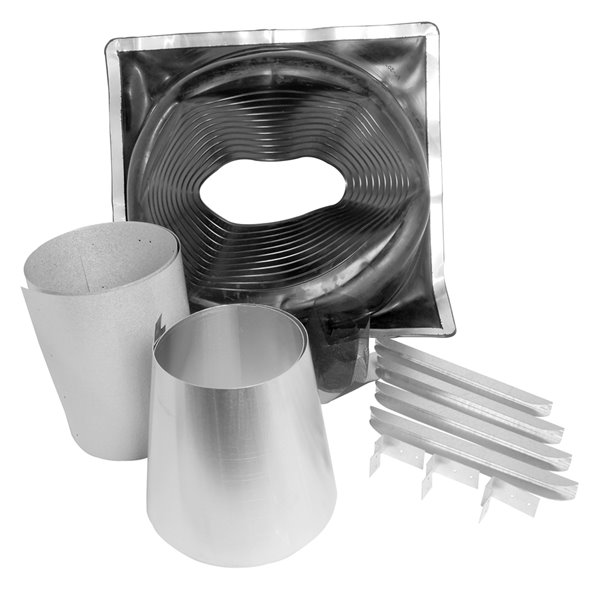 Selkirk JM Supervent Universal Rubber Boot Flashing Kit - 4 Pcs
