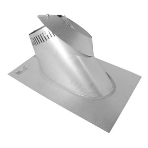 Selkirk JM Supervent Roof Flashing (6/12 to 12/12) - 7-in - 2 Pcs