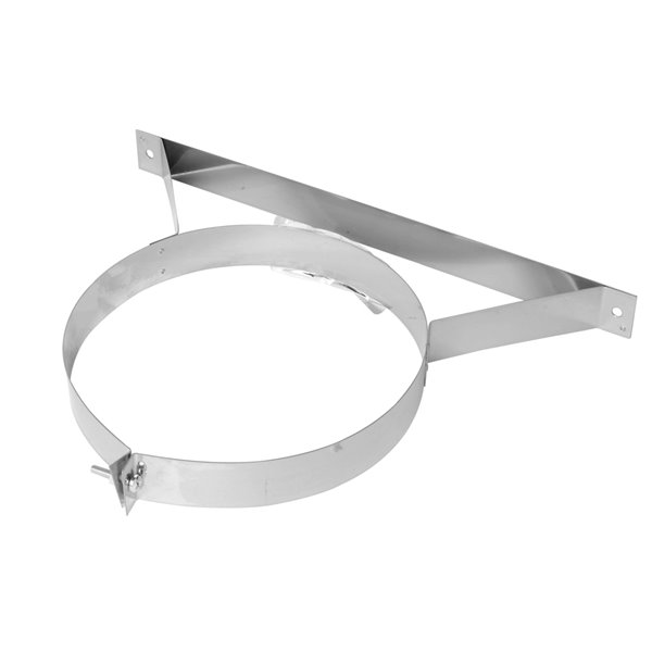 Selkirk JM Supervent Wall Band - Stainless Steel - 7-in