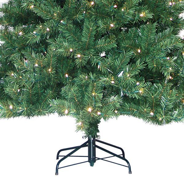 Henryka Henderson Artificial Christmas Tree with LED Lights - 7.5-ft - 350 Lights