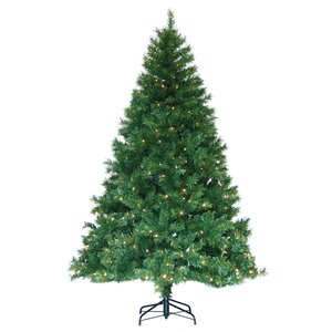 Arbre de Noël artificiel Henderson de Henryka avec lumières DEL, 7,5-ft,- 350 lumières