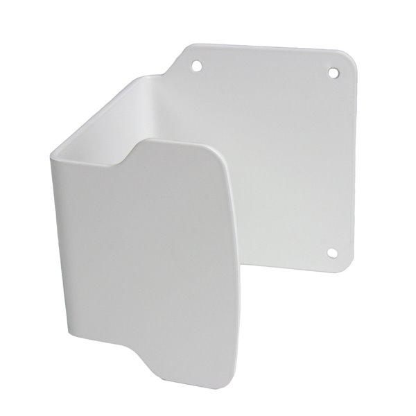 Poignée de porte Frost mains libres, blanc, 4 po x 4.6 po x 4.25 po