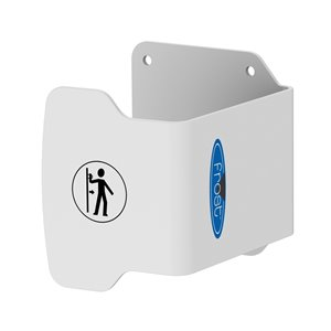 Frost Hands Free Door Pull - White - 4-in x 4.6-in x 4.25-in