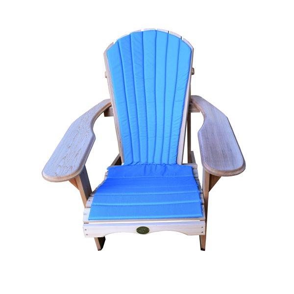 Bear Exterior Chair Cushion, Blue