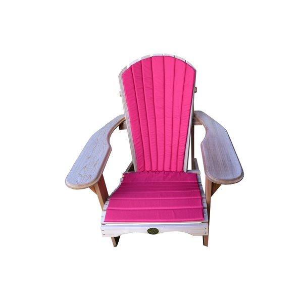 Coussin de chaise extérieur Bear, rouge
