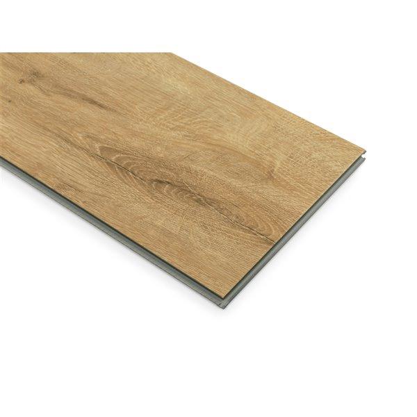 NewAge Products Stone Composite Vinyl Plank Flooring - 9.5 mm - Natural Oak - 5-Pk