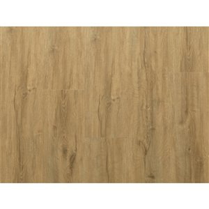 NewAge Products Stone Composite Vinyl Plank Flooring - 9.5 mm - Natural Oak - 5-Pk