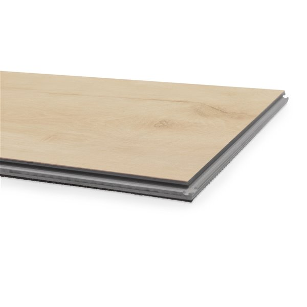 NewAge Products Luxury Vinyl Plank Flooring Bundle - T-Molding Transition Strips - 168 sq ft - White Oak
