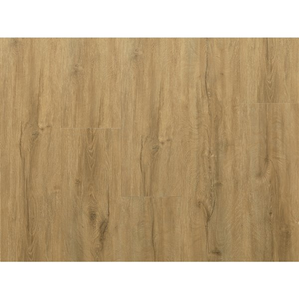 NewAge Products Luxury Vinyl Plank Flooring Bundle - T-Molding Transition Strips - 168 sq ft - Natural Oak