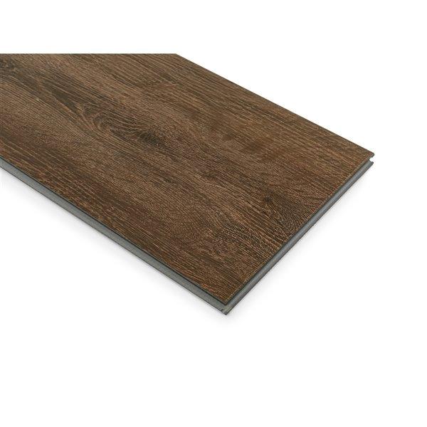 NewAge Products  Stone Composite Vinyl Plank Flooring - 9.5 mm - Forest Oak - 5-Pk