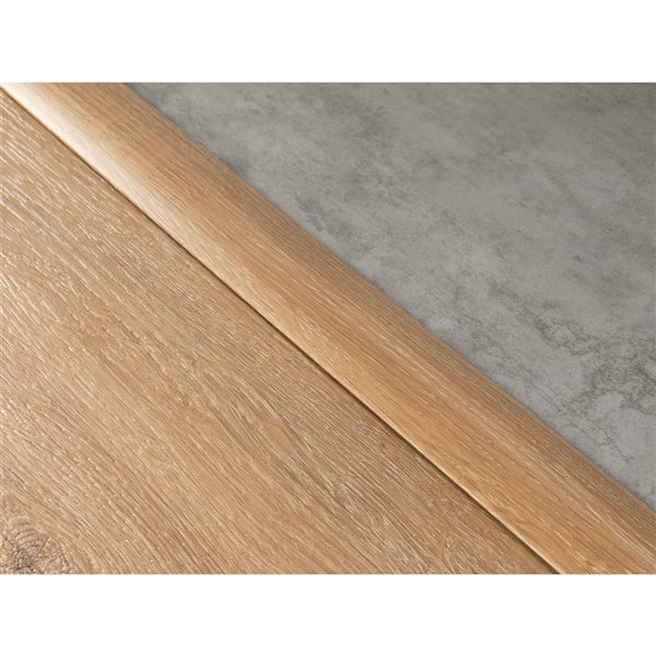 NewAge Products Flooring T-Molding Transition Strip - 46-in - Gray Oak