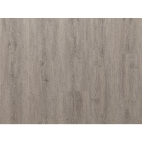 NewAge Products Gray Oak Luxury Vinyl Plank Flooring Bundle - T-Molding Transition Strips - 216 sq ft