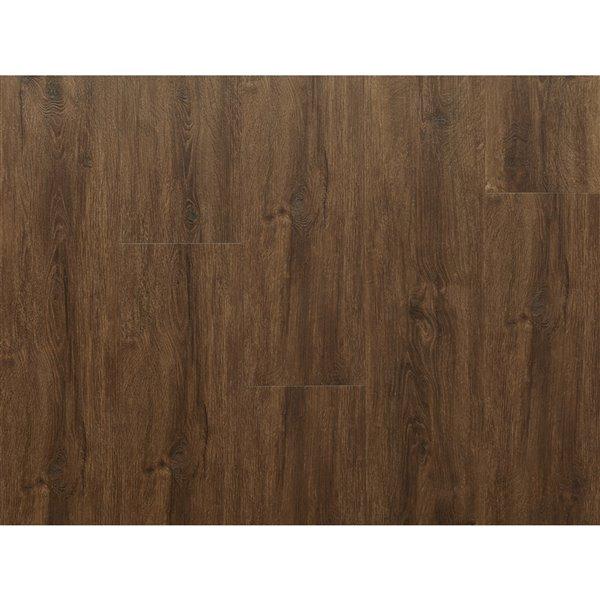 NewAge Products Luxury Vinyl Plank Flooring Bundle - T-Molding Transition Strips - 168 sq ft - Forest Oak