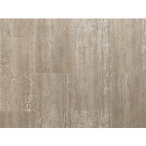 NewAge Products Stone Composite Luxury Vinyl Tile - 9.5 mm - 13.44 sq ft - Sandstone - 7-Pk
