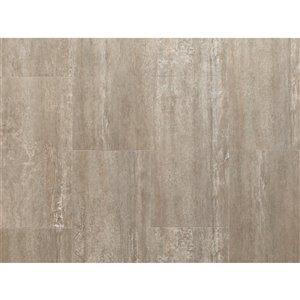 Tuile vinyle de luxe pierre composite NewAge Products, 9,5 mm, 13,44 pi², grès, 7 mcs