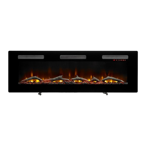 Dimplex Sierra Wall-mount Linear Electric Fireplace - 60-in