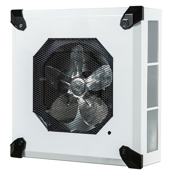 Ceiling Mounted Heater built-in thermostat - 5000 W - 16.25-in x 5.25-in x 16.25-in