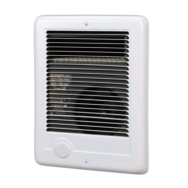 Cadet Com-Pak 1000 W / 120 V Fan-Forced Wall Electric Heater - No Thermostat - White