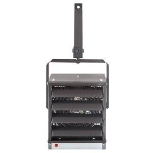 Chaufferette d'atelier électrique Dimplex industriel compact, 5000 W, grise