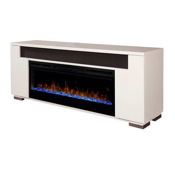 Dimplex Haley Media Console Electric Fireplace With Acrylic Ember Bed