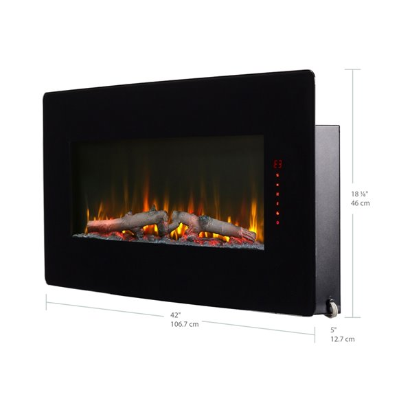 Dimplex Winslow Wall-Mount Electric Fireplace - 42-in