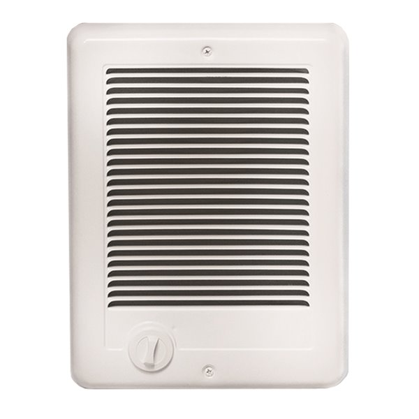 Cadet Com-Pak Fan Forced Wall Heater 1000 W / 240 V - Area up to 150 sq. ft. - White