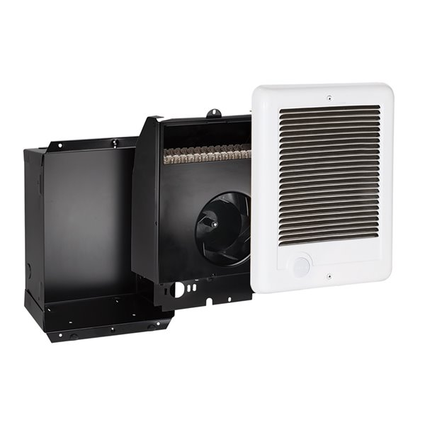 Cadet Com-Pak Fan Forced Electric Wall Heater 2000 W / 240 V - No Thermostat - White