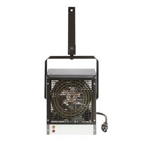 Chaufferette d'atelier électrique Dimplex pour garage/atelier et thermostat intégré, 4000 W, Gris