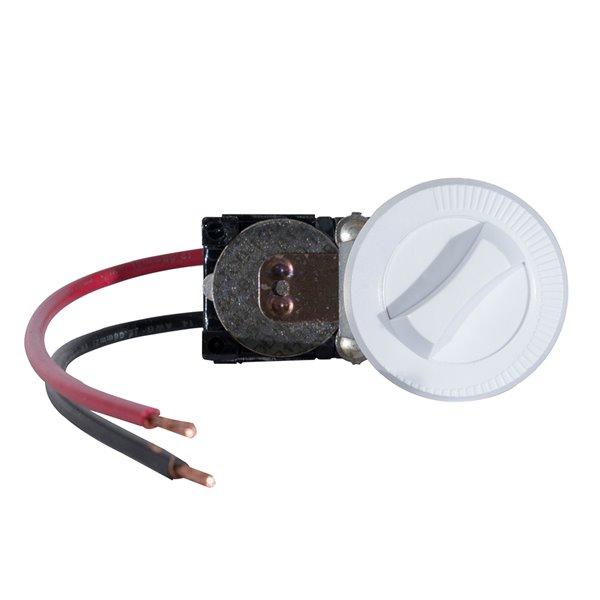 Dimplex Com-Pak Series White Integral Single-Pole 22 Amp Thermostat Kit