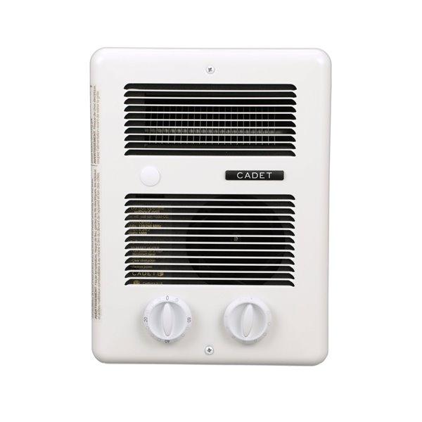 Cadet Com-Pak Fan Forced Bathroom Heater - Built-in Thermostat -  - 10.5-in x 6-in x 14.75-in