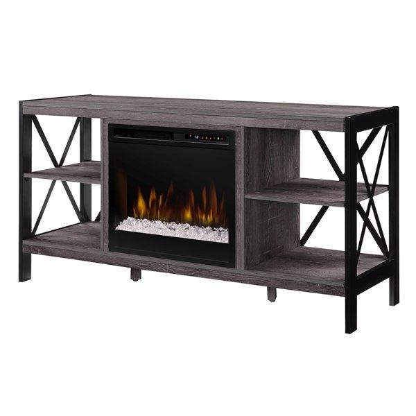Dimplex Ramona 55-Inch TV Media Console Electric Fireplace - Autumn Bronze
