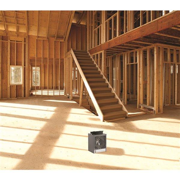 Chaufferette de construction Dimplex, 4800 W, gris